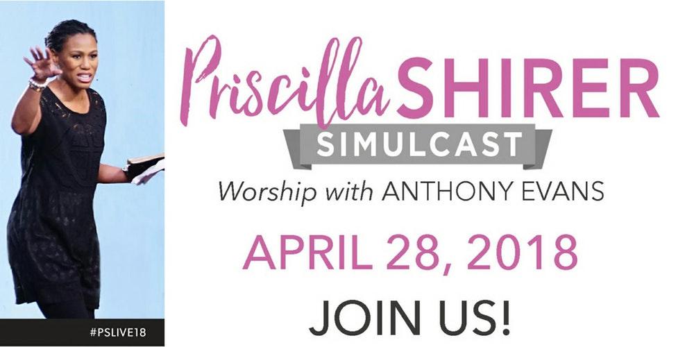 Image result for priscilla shirer simulcast