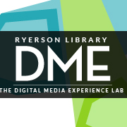 Logo for The Digital Media Experience Lab