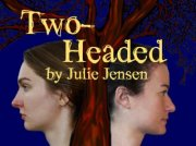 Two-Headed poster image.  Two heads coing out of one tree.