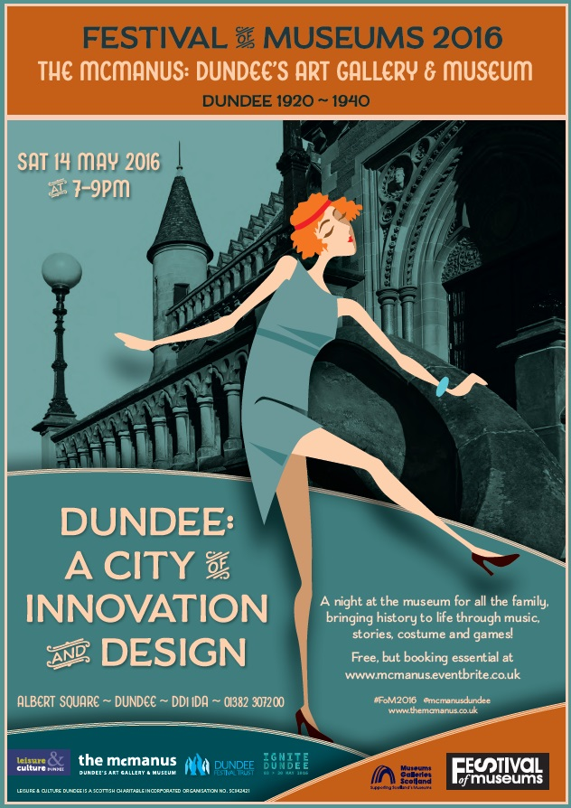 Festival of Museums 2016 at the McManus Dundee