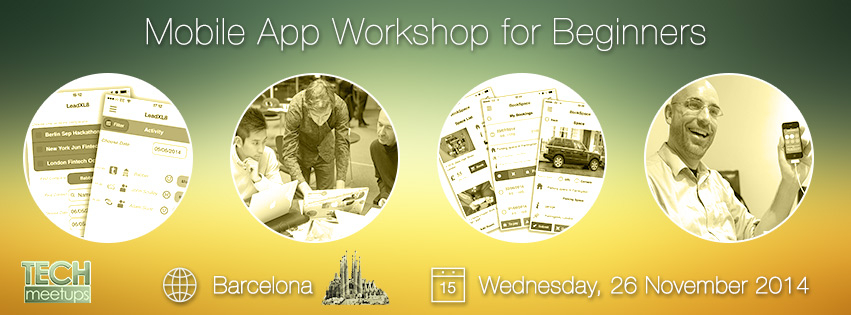 Mobile App Workshop for Beginners with Appery.io