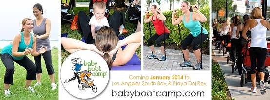 Baby Boot Camp Los Angeles South Bay and Playa Del Rey Banner