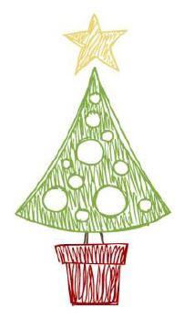 Xmas tree illustration