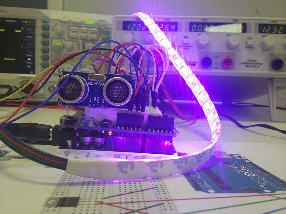 Arduino Sensore Ultrasuoni