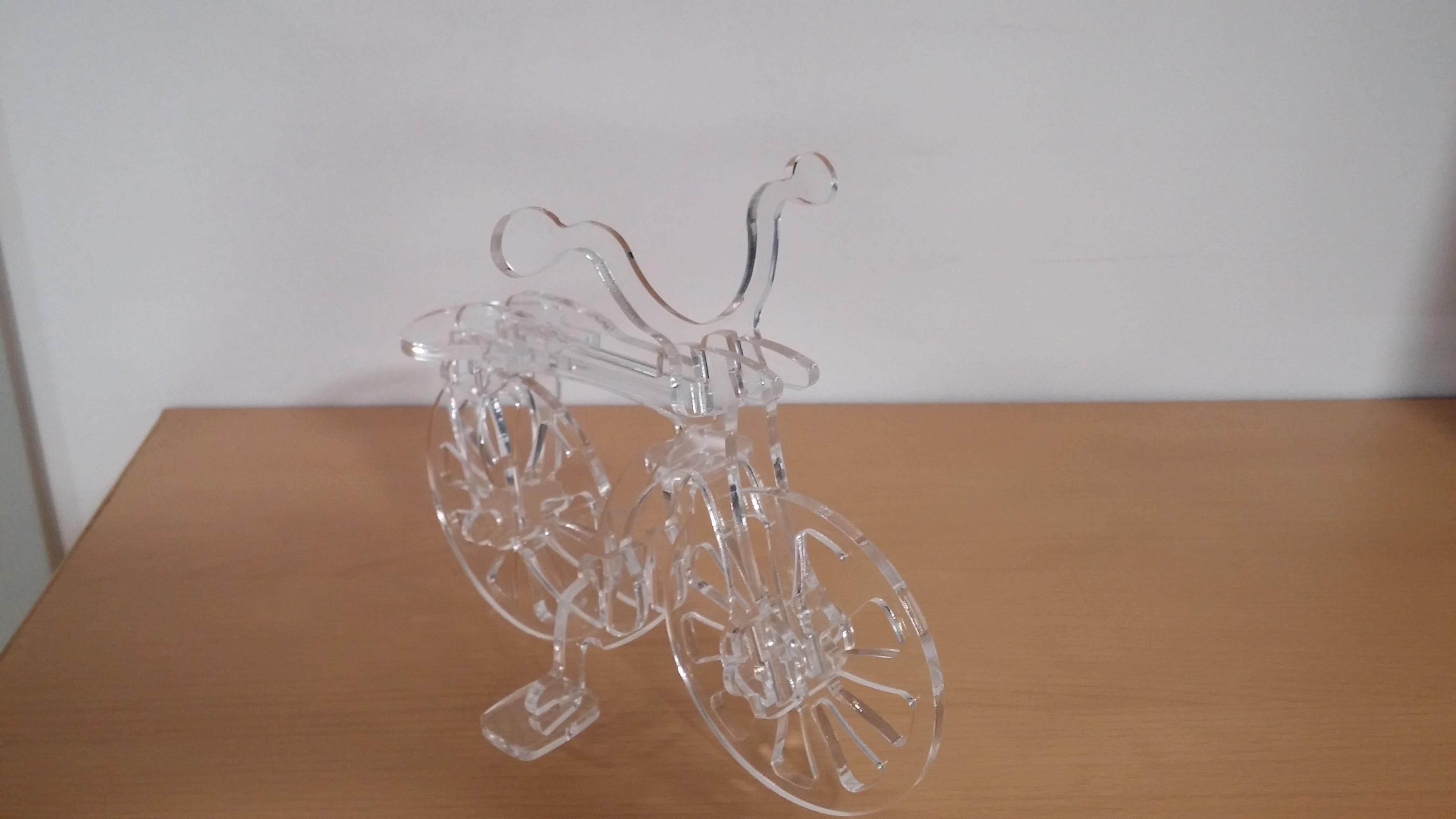 bici plexiglass