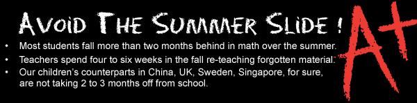 Math Summer Programs at Mathnasium