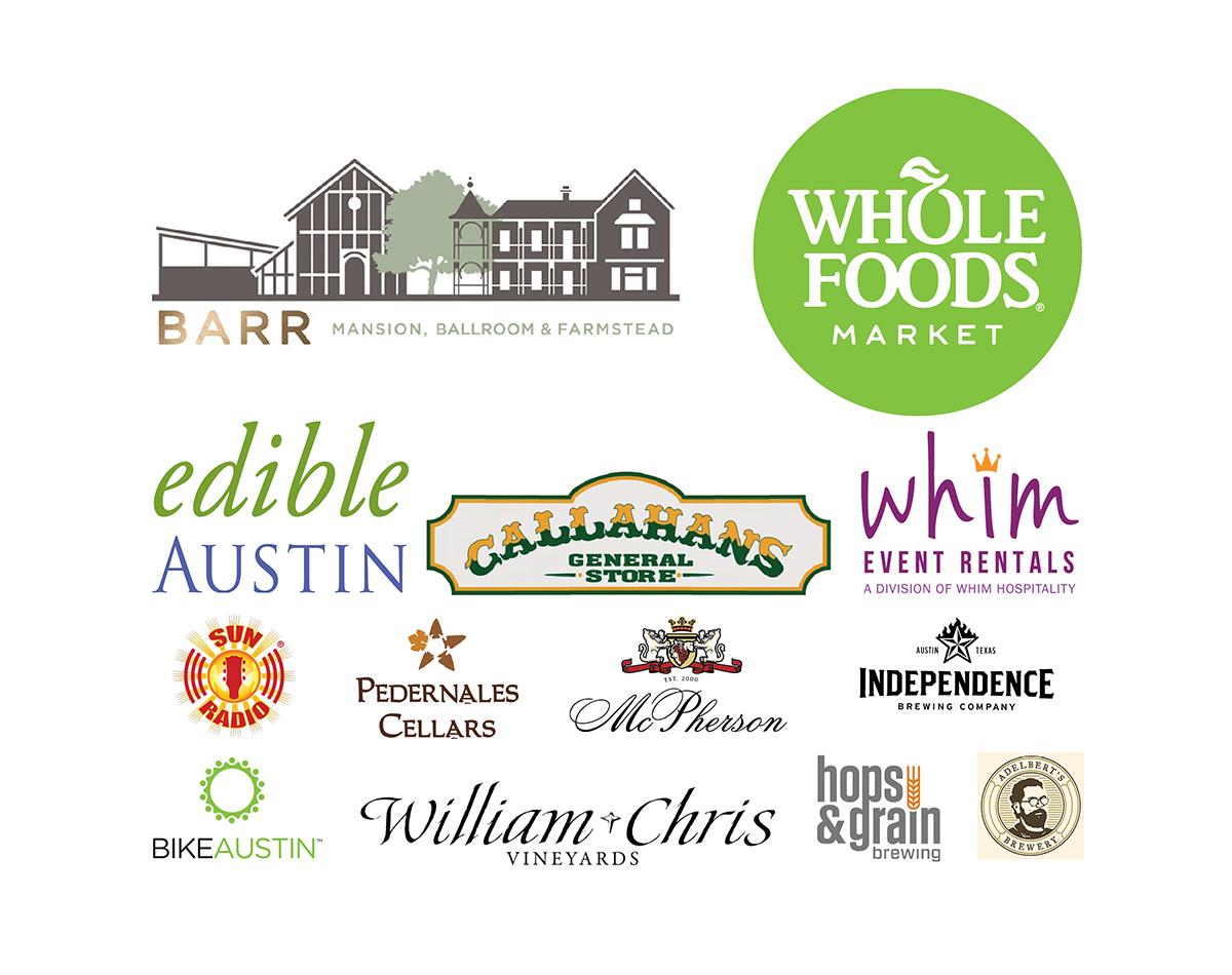 Austin Fermentation Festival 2016 major sponsors