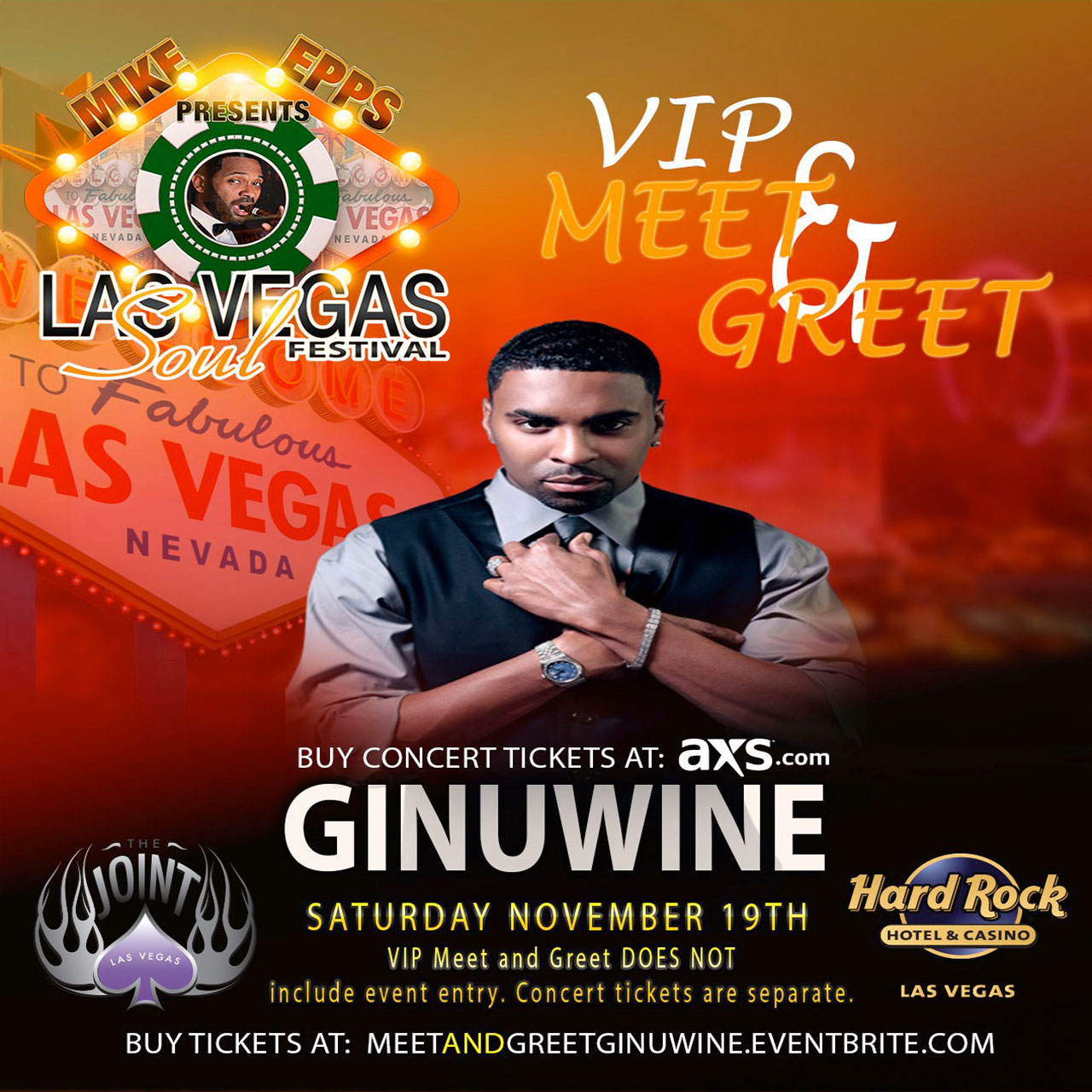 GINUWINE Meet and Greet