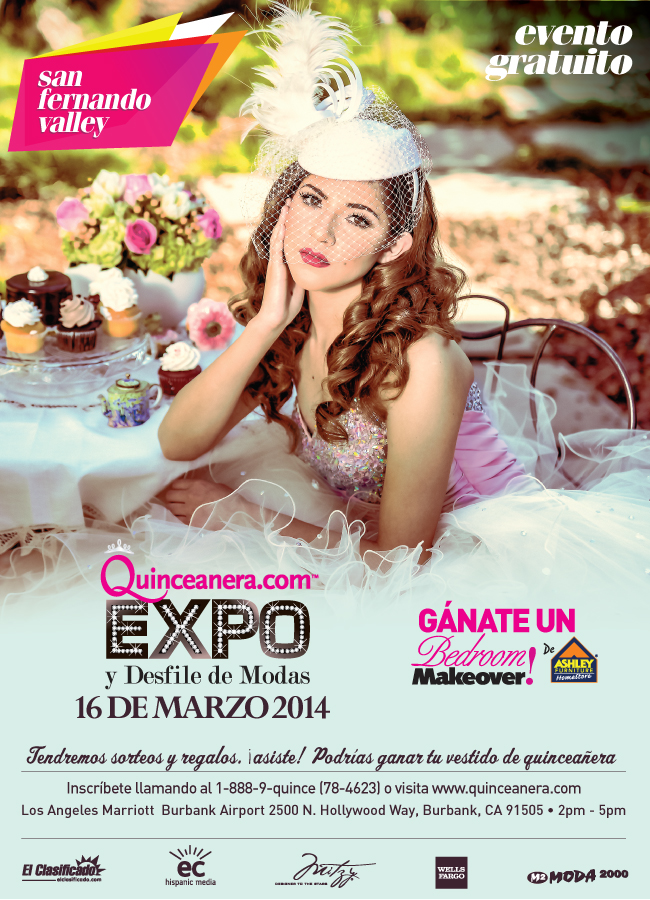 San Fernando Quinceanera.com Expo and Fashion SHow
