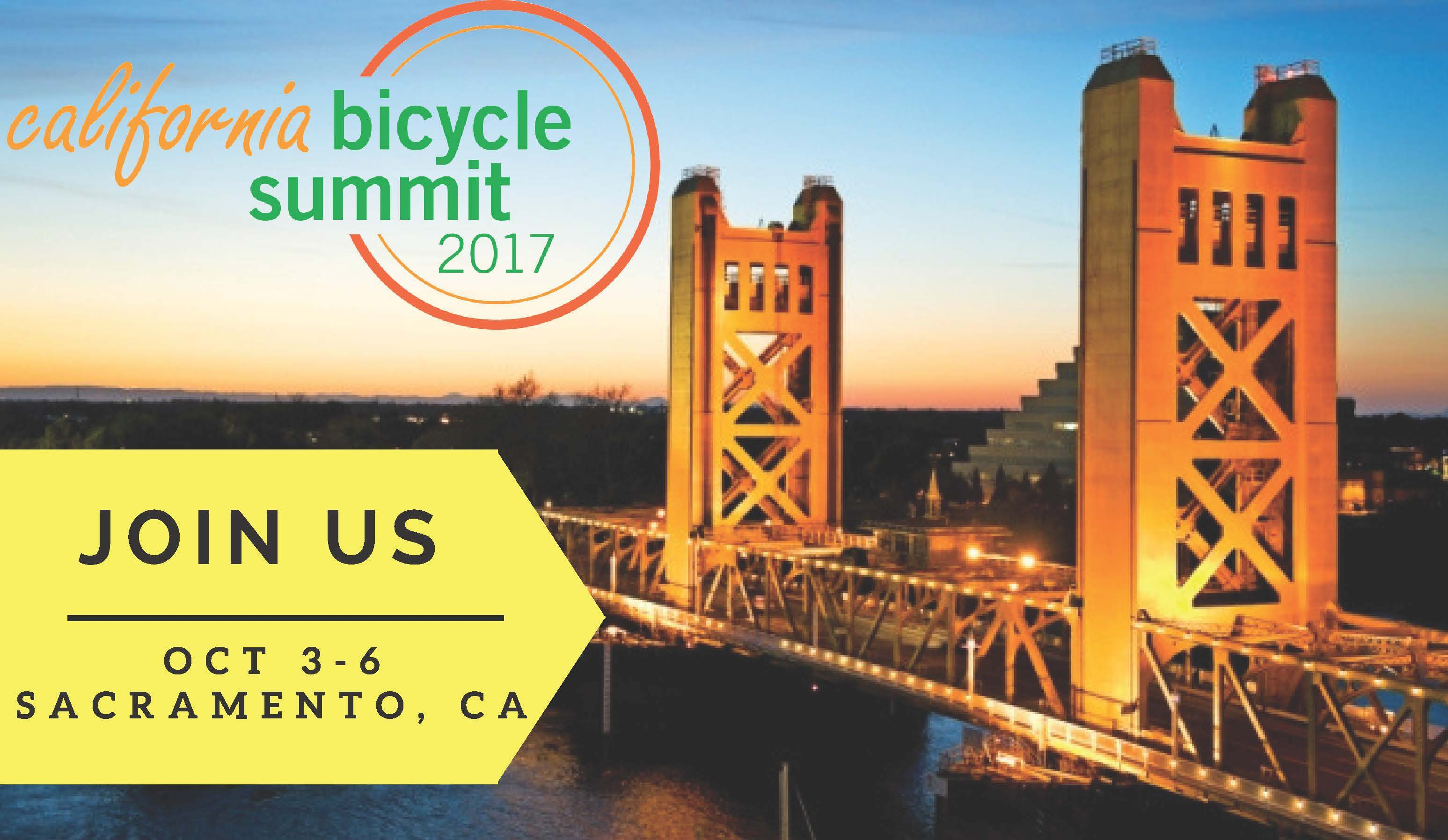 CalBike Summit Oct 3-6 flyer