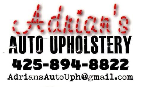 WCG sponsor Adrian's Auto Upholstery