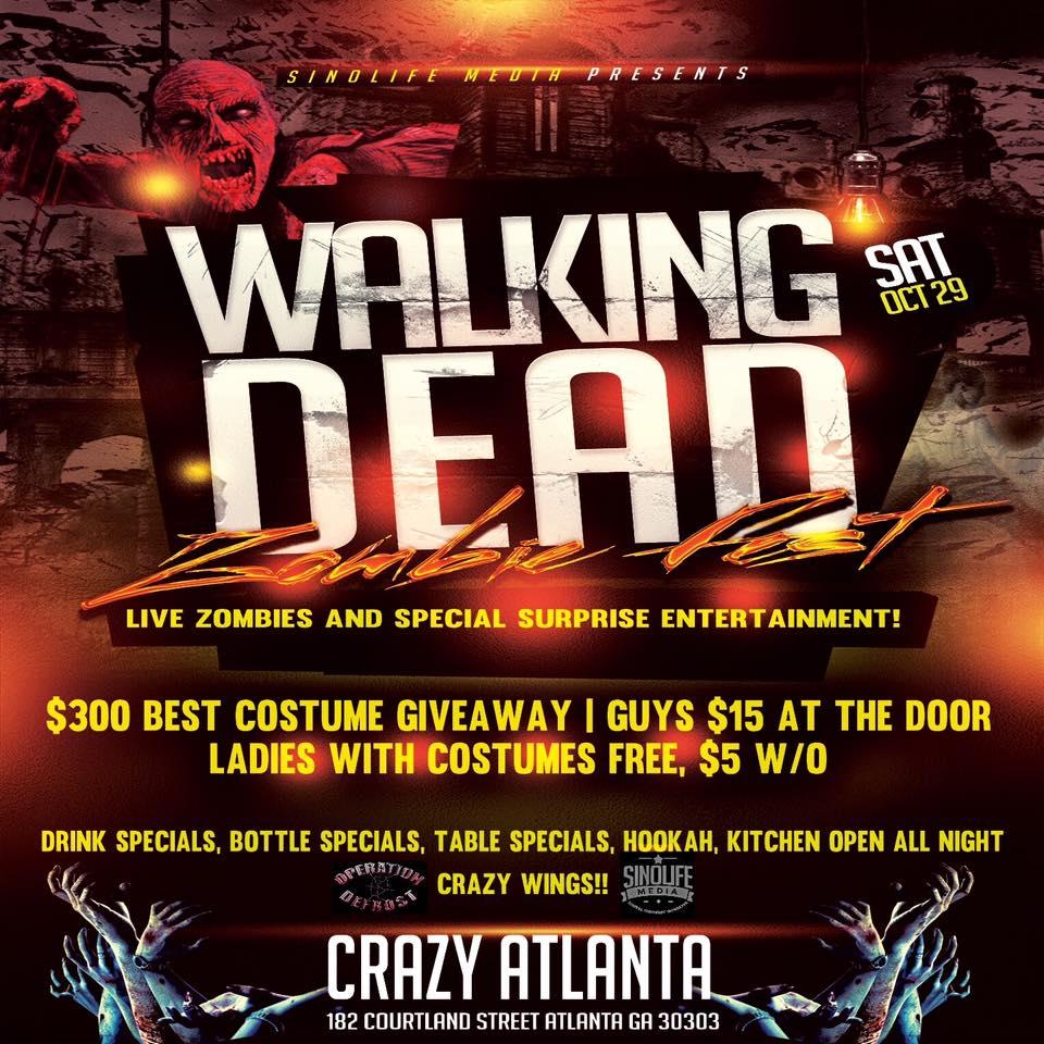 Sinolife Media: Walking Dead Walker Halloween Fest Tickets, Sat ...