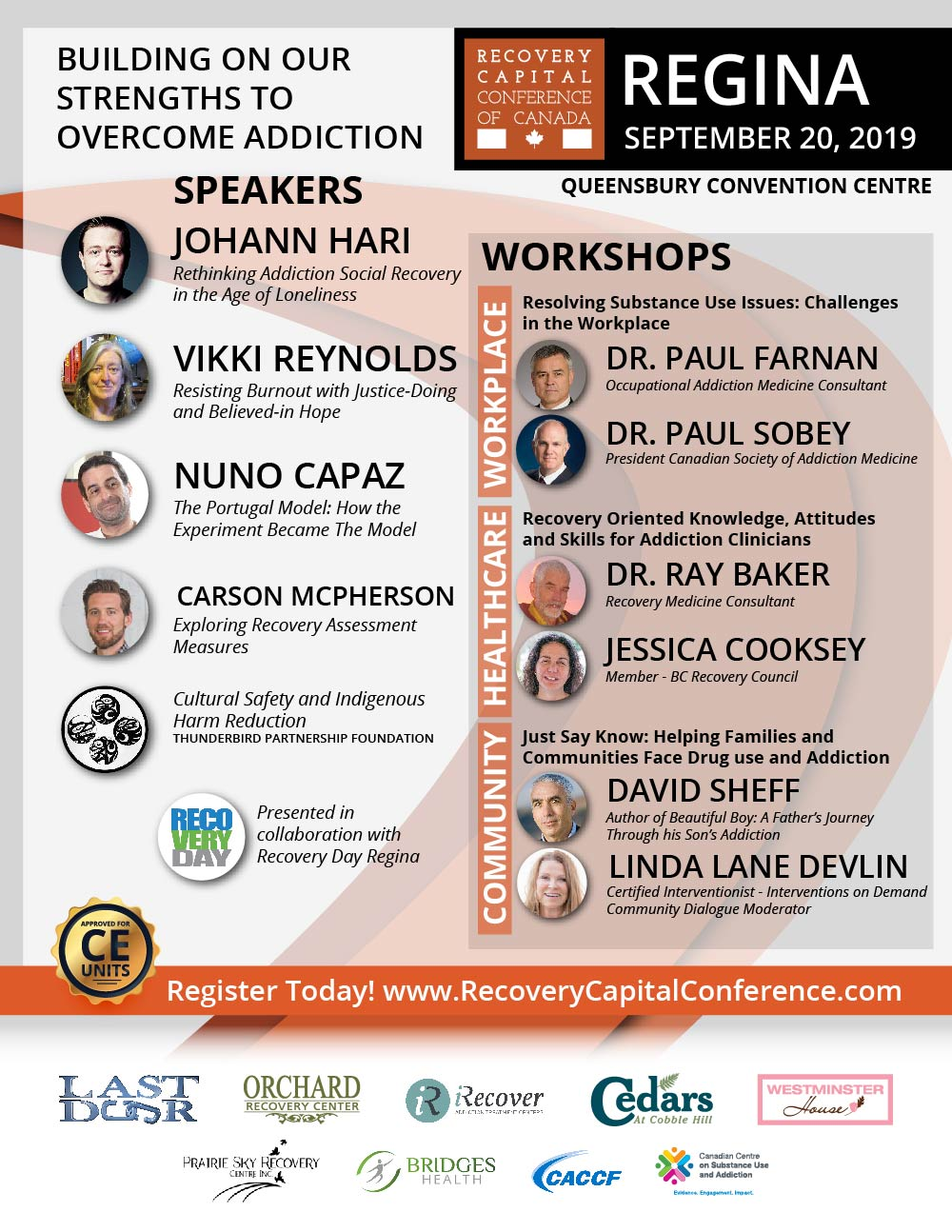 Recovery Capital Conference Regina