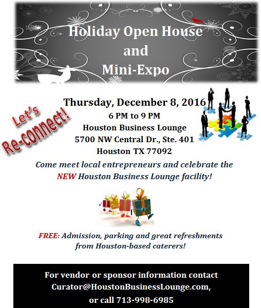 Open house and small business expo