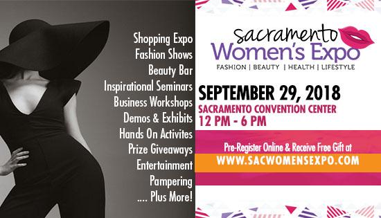 Sacramento Women's Expo September 29 2018 Convention Center