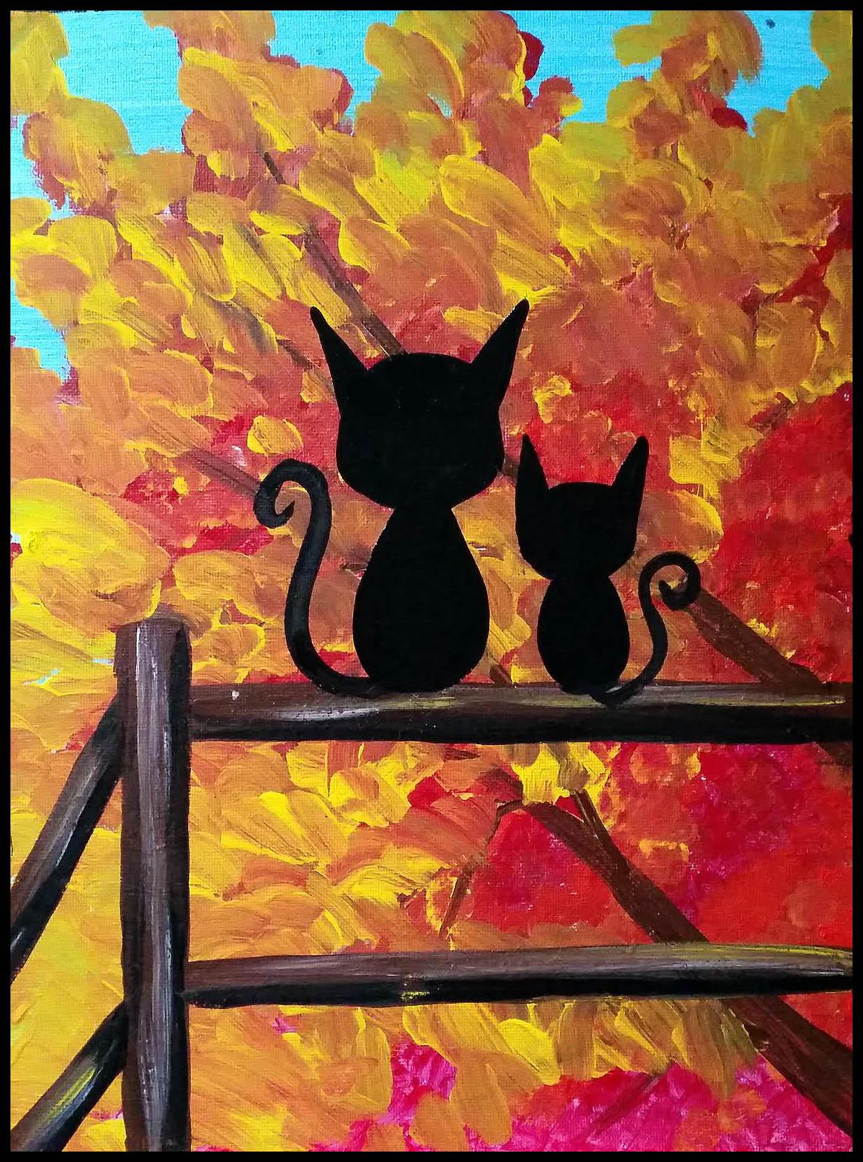 Penelope Fox Art Studio. Bristol, PA. Paint and Sip. Art classes for kids. Birthday parties for children. Bucks County paint parties.