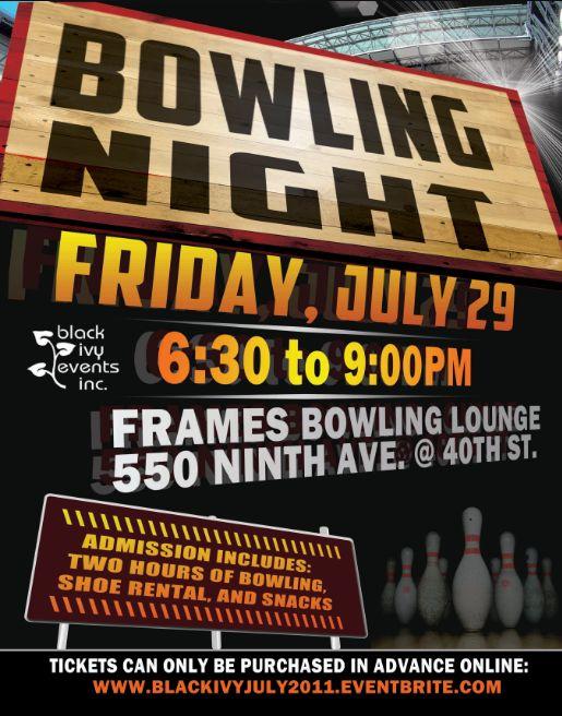 Black Ivy Bowling 7-29-11