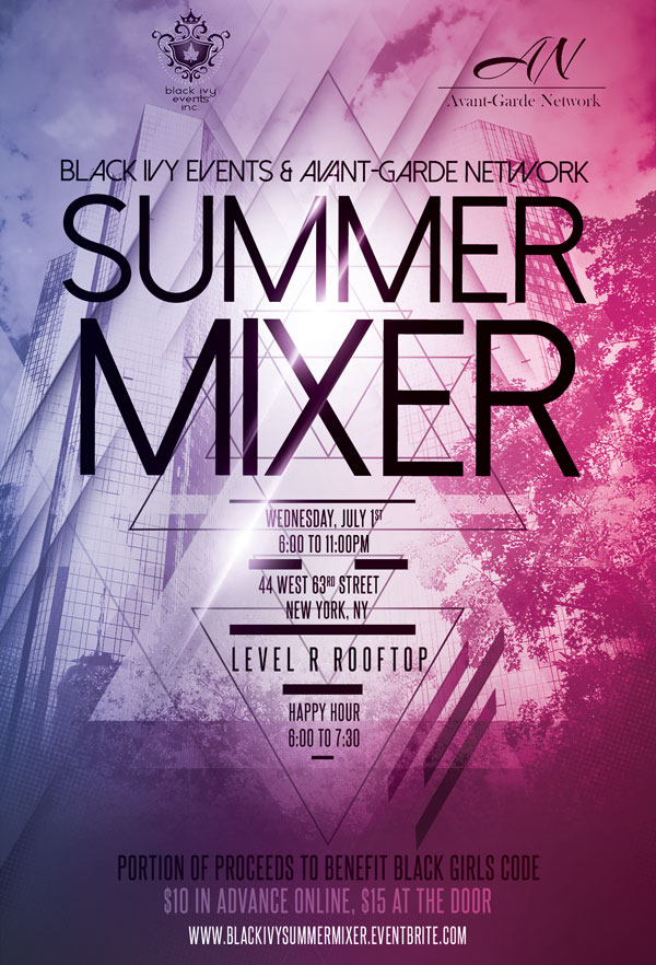 Black Ivy Summer Mixer July 2015
