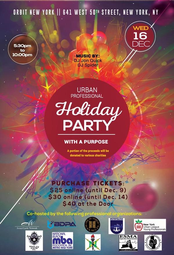 Urban Pro Holiday Party Dec 16 2015