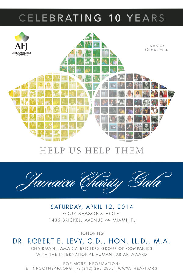 Jamaica Charity Gala Hold the Date