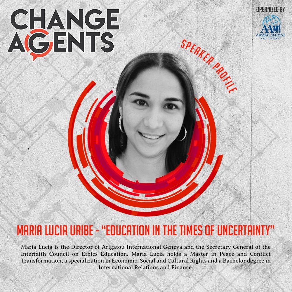 Speaker Profile Maria Lucia Uribe