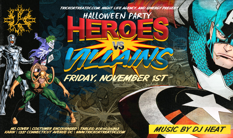 Halloween Party in Washington DC
