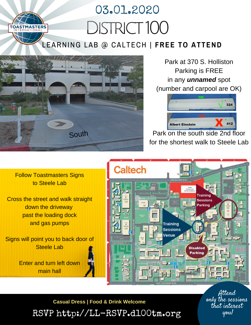 Learning Lab Venue Information