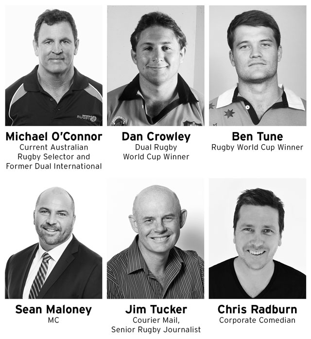 GC Rugby Lunch Panel