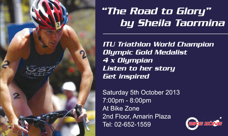 Bike Zone Talk by Shiela Taormina