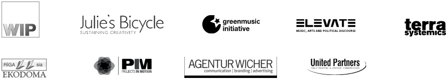 EE Music partner logos