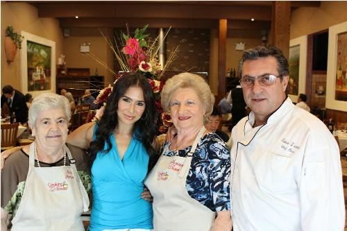 Nonna Romana, Rossella, Nonna Tina, Chef Rocco
