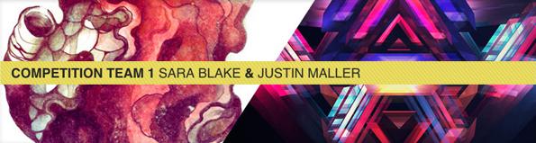 Sara Blake and Justin Maller