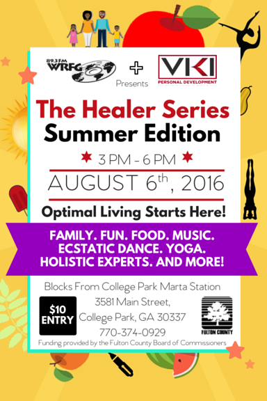 WRFG Healer Series Summer Edition
