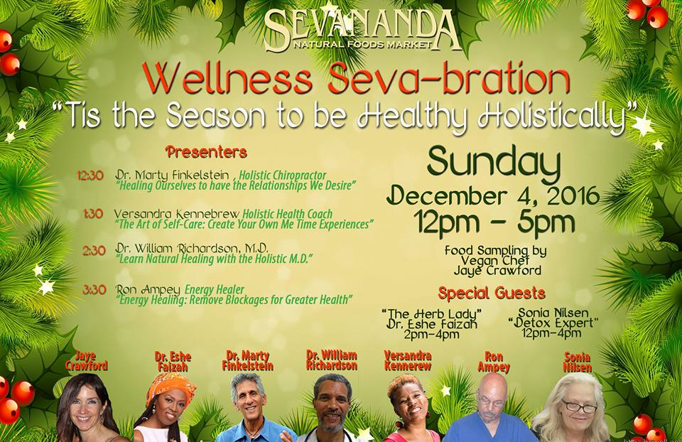 Sevananda Wellness Sava-bration