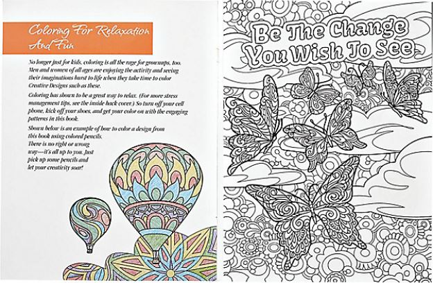 Coach Versandra presents coloring for personal development