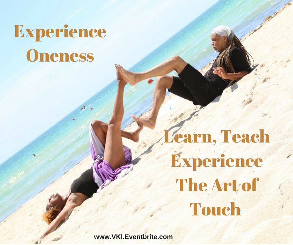 learn teach experience the art of touch Versandra Kennebrew
