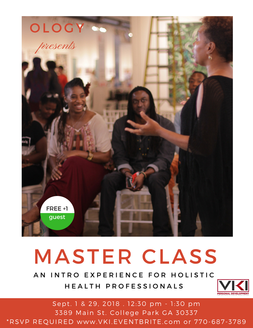 Ology Presents Master Class for Holistic Health Professionals