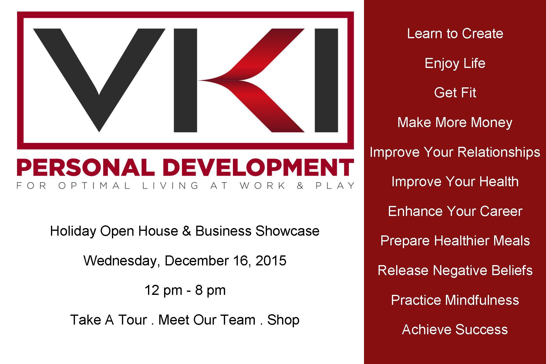 VKI Personal Development Open House