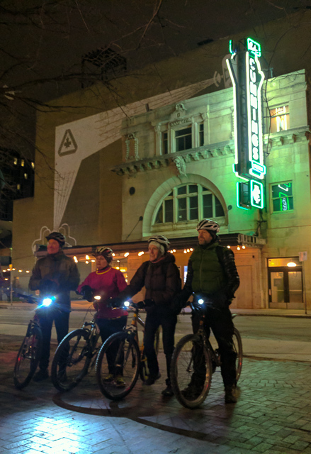 Pedal Powered Ghost Tour - Walker Theatre