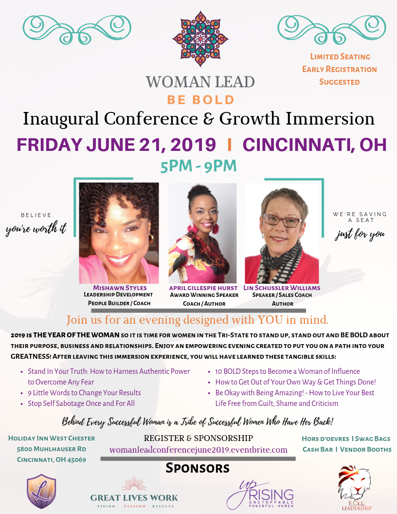woman lead conference
