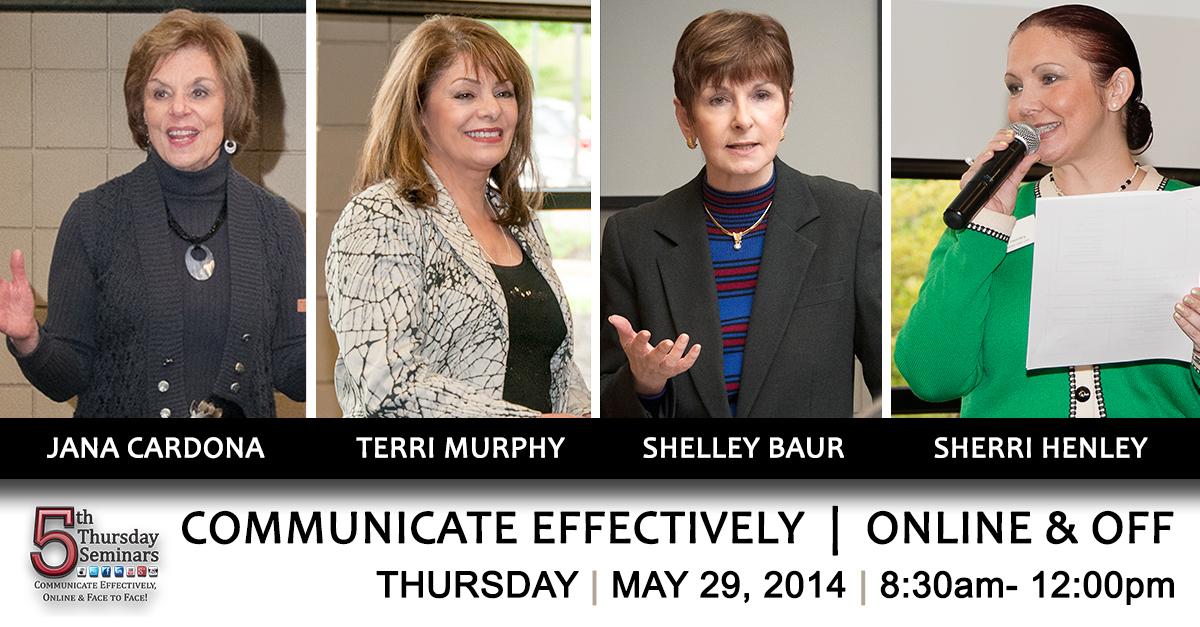 5th Thursday Seminar May 2014