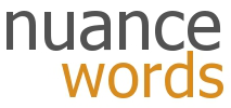 Nuance Words logo