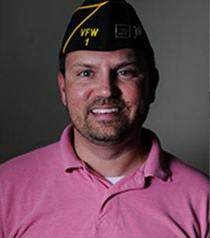 John Harry, VFW Post 1 Commander