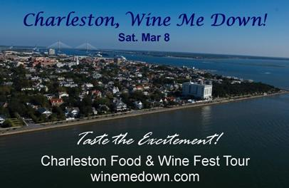 Charlotte Wine Me Down tour to Charleston