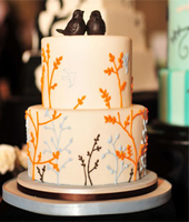 wedding cakes designed by 'The Cake and the Giraffe'