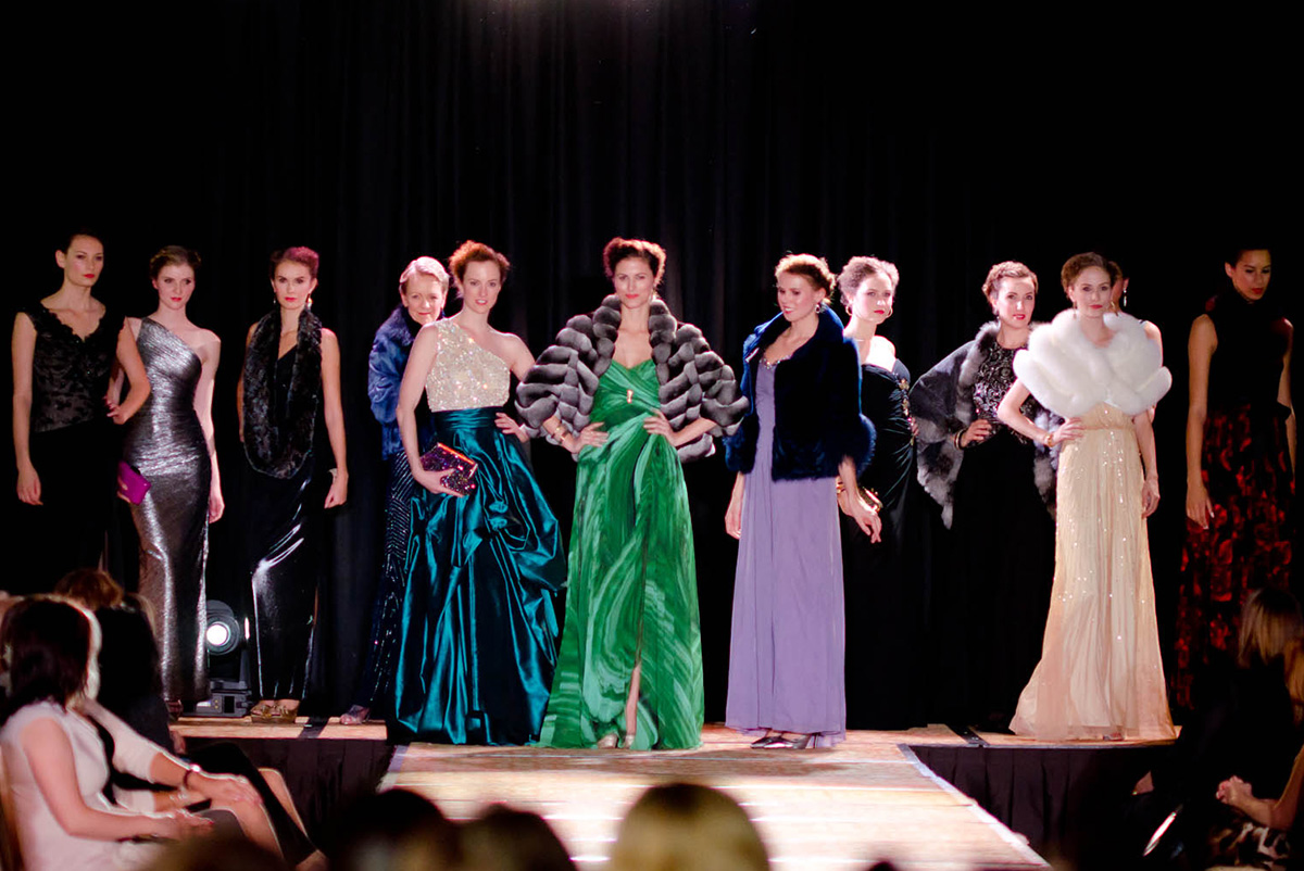 Models for The Bear Essentials Fashion Show