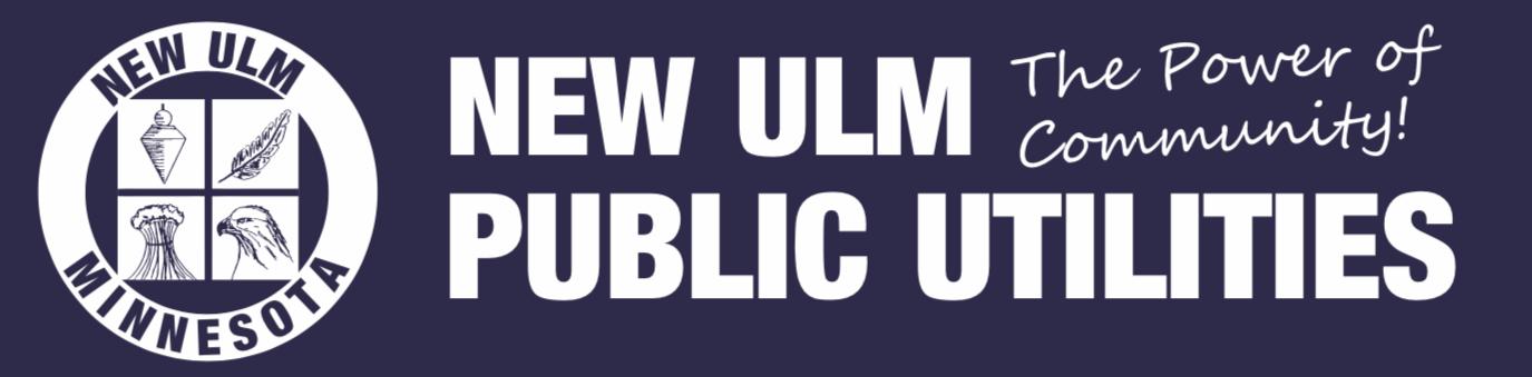 New Ulm Public Utilities Banner