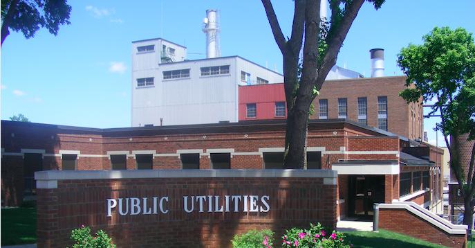 New Ulm Public Utilities building