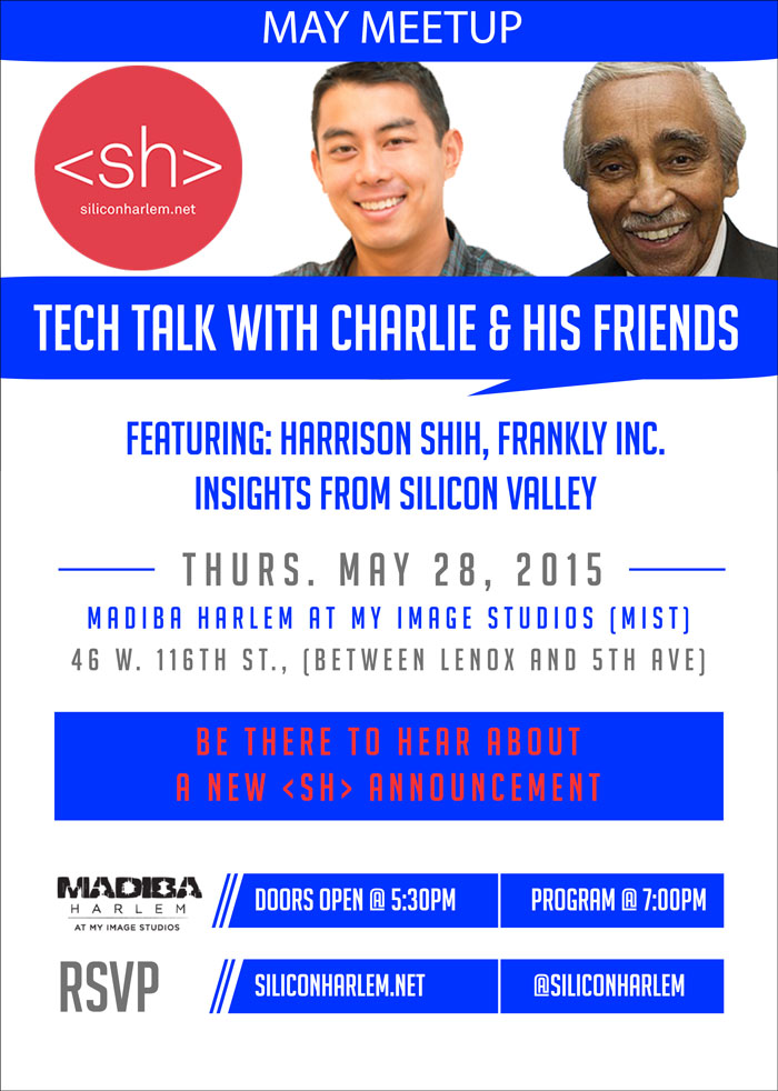 May Meetup - Tech Talk with Charlie and His Friends
