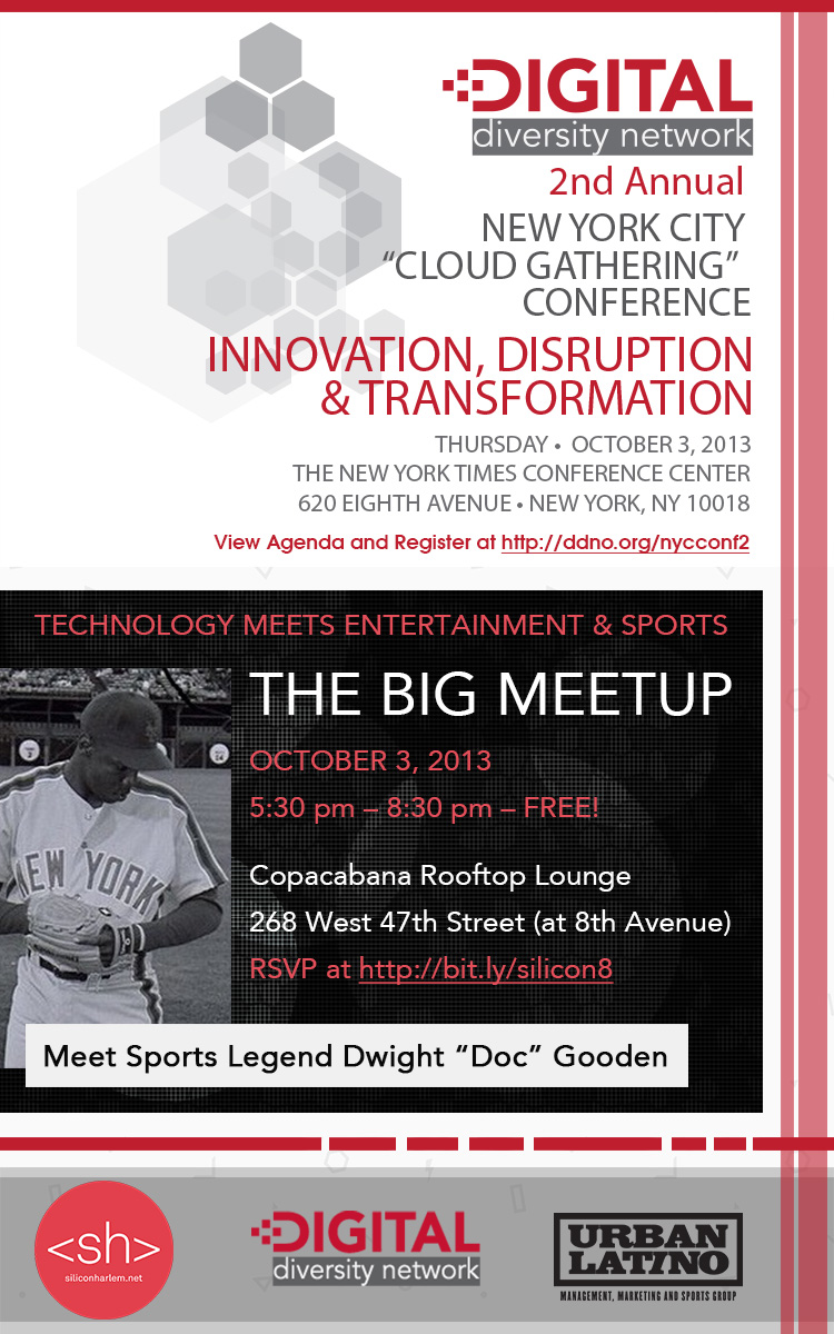 The Big Meetup: Technology Meets Entertainment & Sports